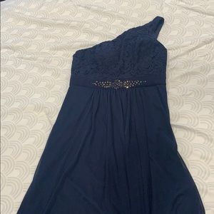 Navy dress - Price cut Sunday only orig $60